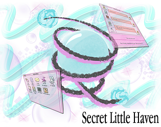 Logo for the game Secret Little Haven