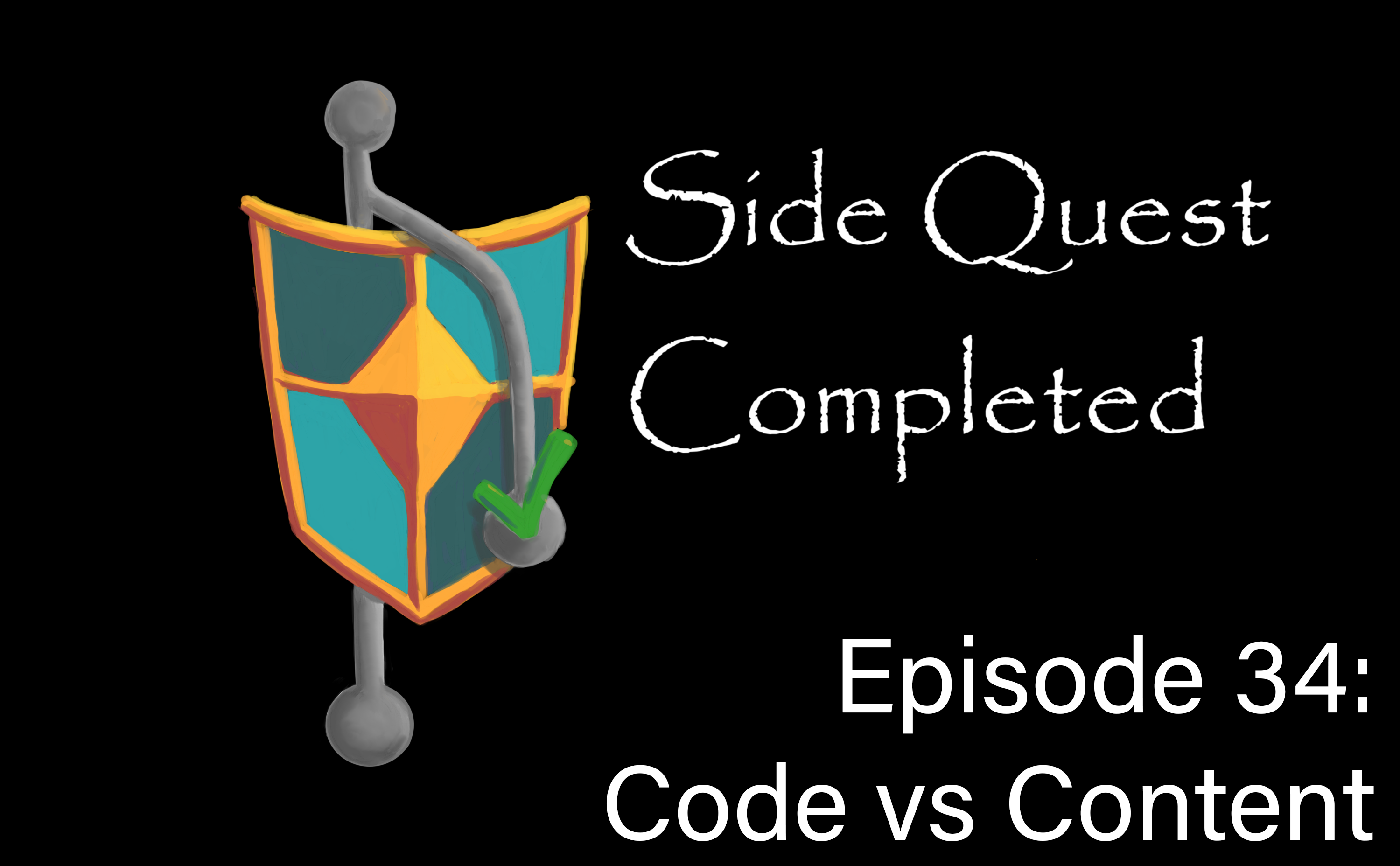 SQC logo with episode title.